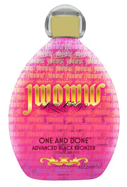 JWOWW - One And Done Black Bronzer (400ml)
