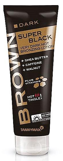 Tannymaxx - Brown Dark Super Black Very Dark Hot Bronzing Lotion (125ml)