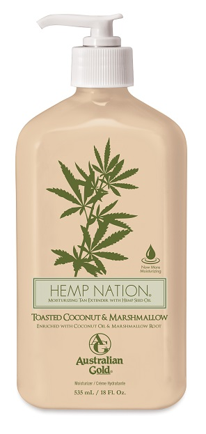Australian Gold - Hemp Nation Toasted Coconut (535ml)