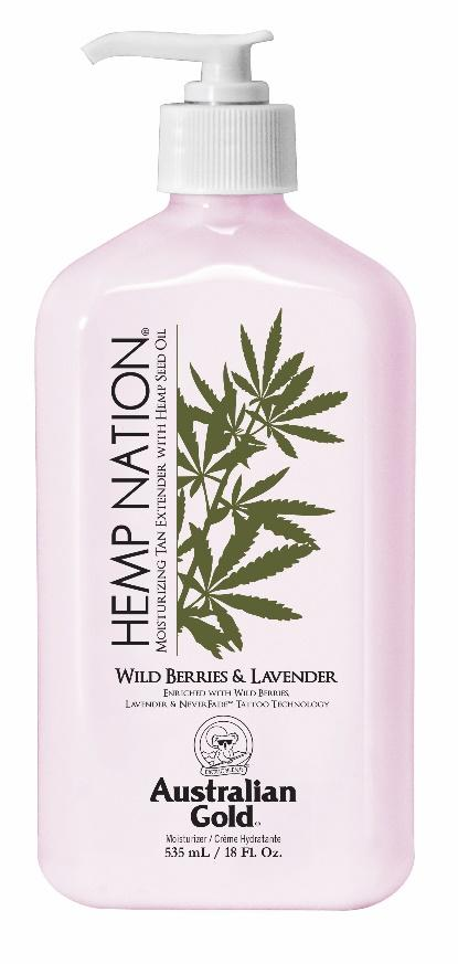Australian Gold - Hemp Nation Wild Berries & Lavender (535ml)