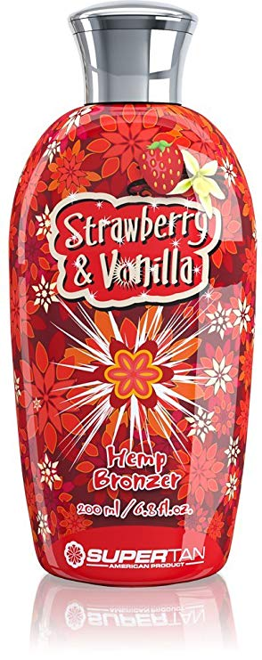 SuperTan - Strawberry & Vanilla Hemp Bronzer (200ml)