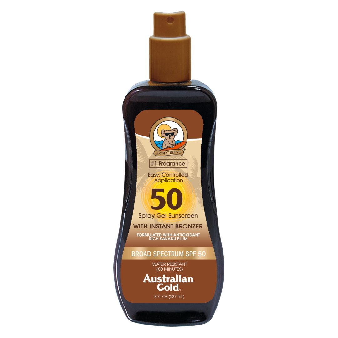 Australian Gold - SPF 50 Spray Gel Bronzer (237ml)