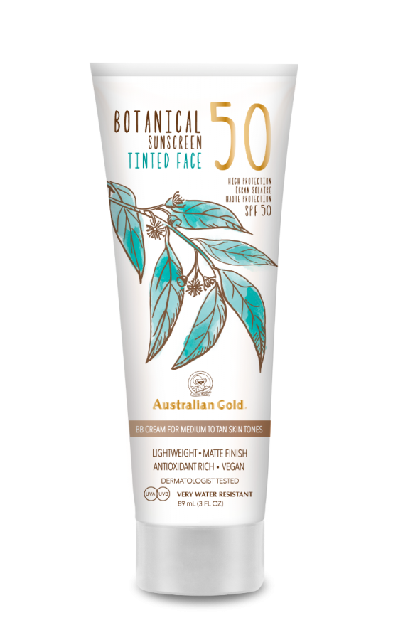 Australian Gold - SPF 50 Botanical Medium Faces (89ml)